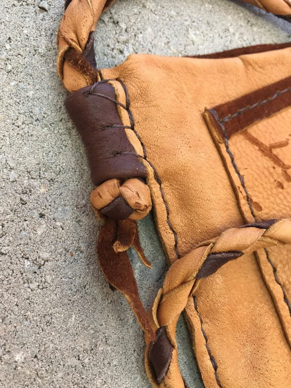 Tan Deerskin Hand Stitched Leather Bag