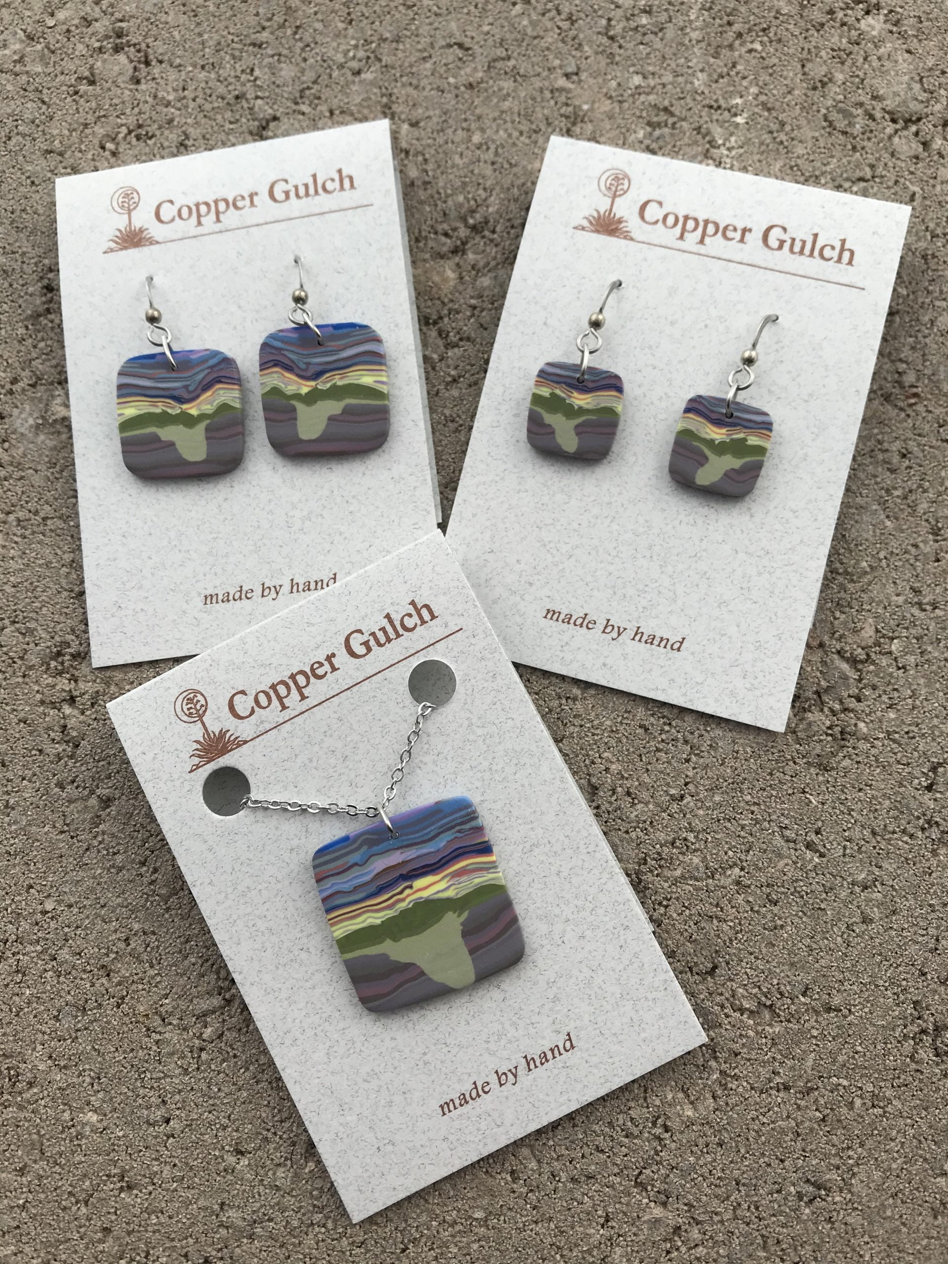The Polymer Clay Design Jewelry at Copper Gulch Design